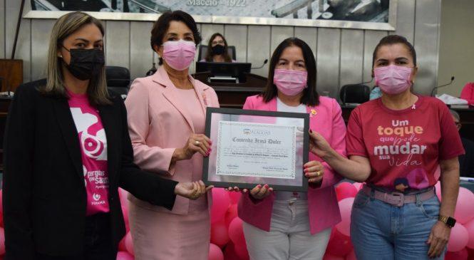 Rede Feminina de Combate ao Câncer é a primeira entidade agraciada com a Comenda Irmã Dulce